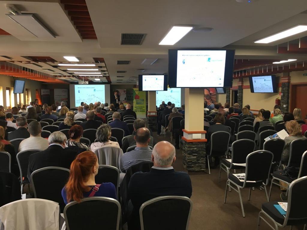 Foto z konferencie Správa Budov 2018